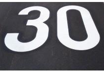 Premark Bodenmarkierung, Markierung 30